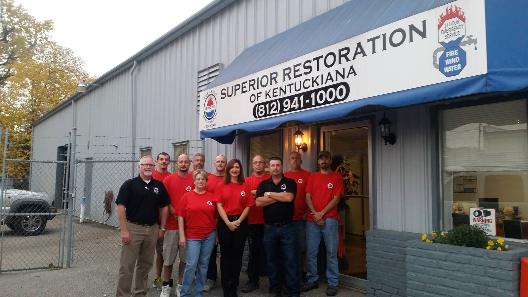 Wind Damage, Fire Damage, Water Damage, Mold Damage, Superior Restoration