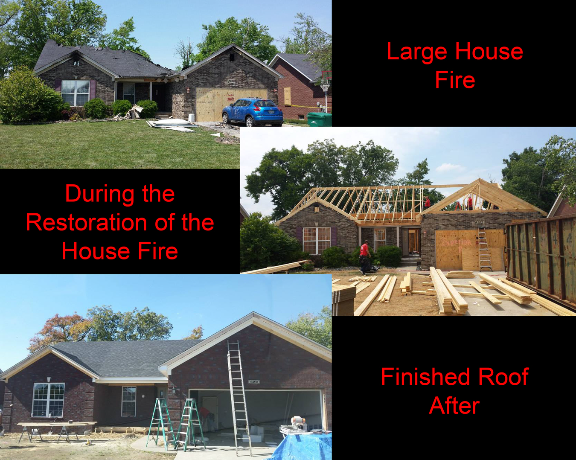Fire Damage, Fire Restoration